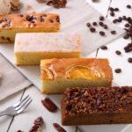 ティータイムに4種類のパウンドケーキ